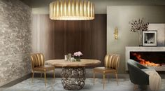 THE MOST IMPRESSIVE DINING ROOM CHAIRS THAT YOU WILL COVET | dining toom chairs | dining room ideas | inspirations #trendychairs | #modernchairs | #inspirationandideas | more @http://www.brabbu.com/en/inspiration-and-ideas/interior-design/impressive-dining-room-chairs-covet  http://www.brabbu.com/en/inspiration-and-ideas/interior-design/luxurious-modern-sofas-want-season