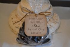Nuts About Each Other  wedding favor tag  by IndelibleImpressions, $5.31