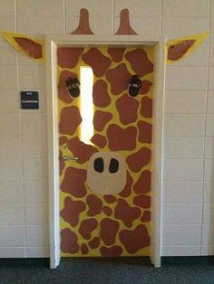 It looks fabulous! This door would always make everyone smile!