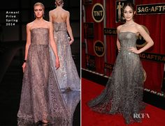 Emmy Rossum In Armani Privé – 2015 SAG Awards
