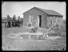 J. Cramer, Lillian, prairie settlement,  Custer County, Nebraska. 1886