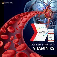 Vitamin K2, Health And Fitness Tips, Heart Health, Omega, Improve Yourself, Healthy Lifestyle, Christmas Bulbs, Facts, Holiday Decor