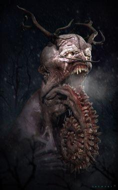 Lovecraftian demon