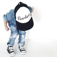 My little boy Tex * f e a r l e s s * Toddler Boy Fashion, Toddler Girl Style, Kids Fashion, Dope Fashion, Fashion Room, Little Man Style, Badass Outfit, Denim And Lace, Denim Outfit