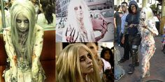 A photo collage of my Left 4 Dead Witch cosplay at the San Diego Comic-Con 2011 Zombie Walk. Version 2