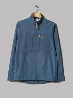 Fjällräven Abisko Shade Jacket (Uncle Blue) 05194a2208da6