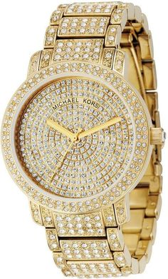 Michael Kors Crystal Gold Watch