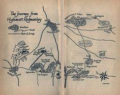 Weirdstone of Brisingamen. love books with maps