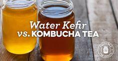Water Kefir vs. Kombucha