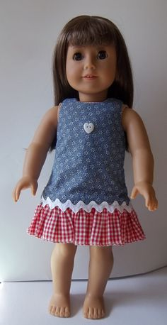 OOAK One of a Kind Reversible Jumper Dress with Room Seven Fabrics. $18.00, via Etsy.