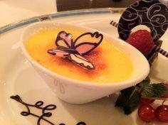 Crème brûlée at Sheraton airport hotel in Frankfurt #sheratonsocial
