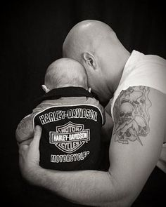 don't judge...even bikers pray to our Savior