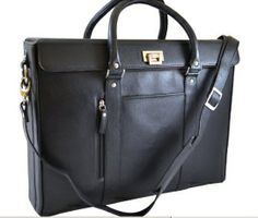 My design inspiration: Hollywood Tote Black on Fab. Laptop Tote, Laptop Briefcase, Designer Laptop Cases, Business Attire For Men, Briefcase Women, Computer Bags, Hermes Kelly, Have Time, Hollywood