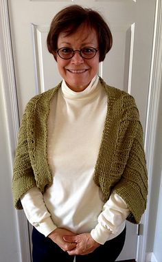 Pietra Shrug, a free crochet pattern by Carol Wolf: https://wolfcrochet.files.wordpress.com/2014/01/pietra-shrug-a.pdf