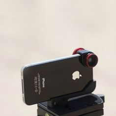 """olloclip - has fisheye, wide angle, and macro lens for my iphone.  Much less expensive that getting a macro for the DSLR.  Great for """"playing!"""""""