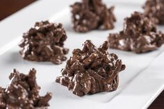 Chocolate Haystacks | MrFood.com