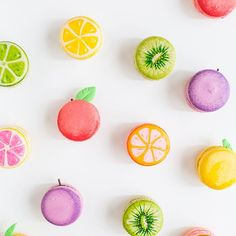 We've been working on a cool #glossaryofmacs compilation over here lately, and I have to say, the fruits macarons are still my fave
