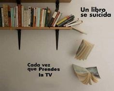 The fall of a book......