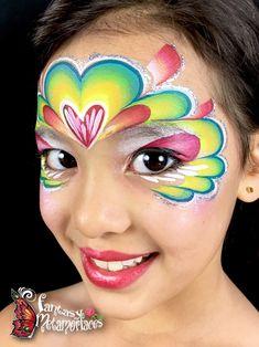Heart Face Mask Face Paint
