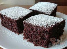 Recept Šťavnatý kakaový koláček s kefírem