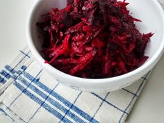 Rote Beete Rohkostsalat mit Karotten