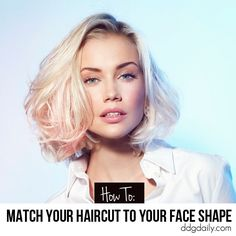 How to match your haircut to your face shape