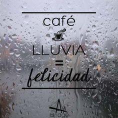 Hay que disfrutar de la lluvia!
