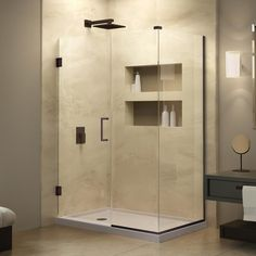 DreamLine Unidoor Plus 30-3/8 in. x 31 in. x 72 in. Hinged Shower Enclosure with Hardware in Oil Rubbed Bronze