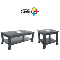 Use this Exclusive coupon code: PINFIVE to receive an additional 5% off the Pittsburgh Steelers Table Set at SportsFansPlus.com