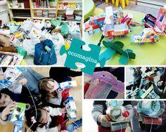 ECOMAGINA .reciclatge creatiu