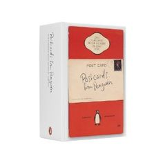 100 Penguin book jackets in a box.
