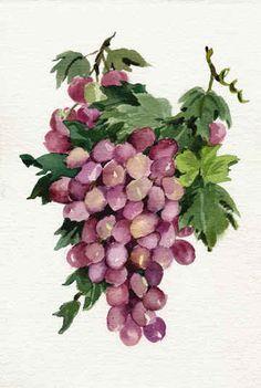 """""""Purple Grapes"""" by Joy Waldman"""