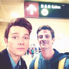 Chris and Grant