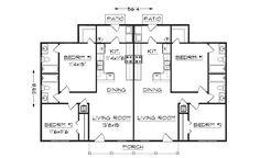 Round House Plans, Beach House Floor Plans, Duplex Floor Plans, Small Floor Plans, Beach House Plans, Home Design Floor Plans, Apartment Floor Plans, Small House Plans, Dog Trot Floor Plans