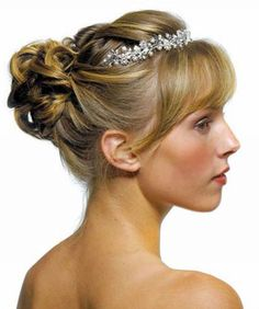 Have bangs? Don't worry - they look gorgeous worn down or up.
