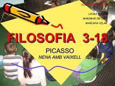 FILOSOFIA 3-18 PICASSO NENA AMB VAIXELL CEIP RAMON CASAS LAURA MARCÓ MARIMAR ORTEGA MARIANA VILAR Philosophy For Children, Picasso, Document, Coaching, 18th, Presentation, Articles, Videos, Mariana