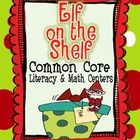 Elf on the Shelf Literacy & Math Unit (Common Core) Too Cool For School, School Fun, School Ideas, School Stuff, Classroom Fun, Classroom Activities, Future Classroom, Christmas Activities, Winter Activities