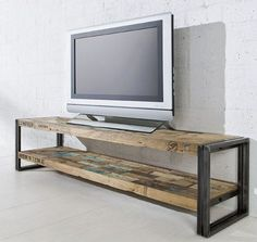 shabby chic furniture great idea for a sleek TV stand.