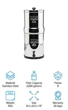 Countertop Water Filter, Countertops, Filters, Steel, Vanity Tops, Countertop, Steel Grades, Table Top Covers, Iron