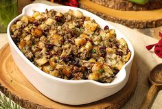 Jones Sausage, Cranberry and Apple Stuffing
