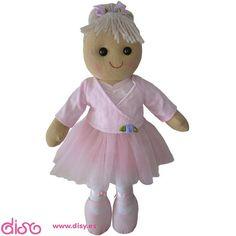 #muñecasdetrapo #muñecasdetrapoclásicas #muñecas Muñecas de Trapo - Muñeca Bailarina (60cm) www.disy.es