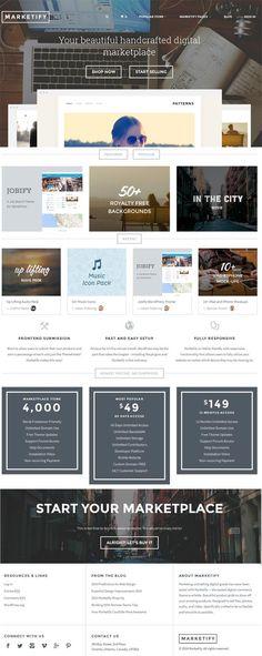 Marketify - A Complete Digital Store WordPress Theme