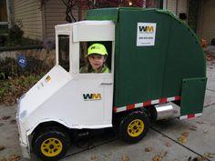 Garbage truck Halloween costume