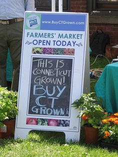 FARMERS MARKET signs | grown farmers market sign a sign at the billings forge farmers market ...