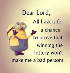 Yeah give me a chance!! LOL