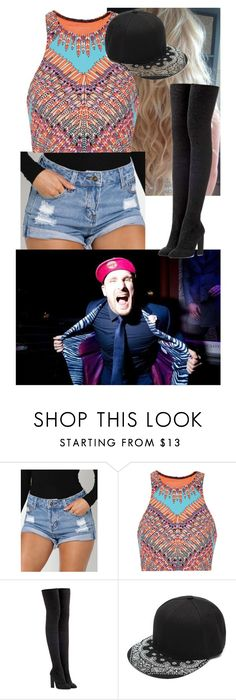 """""""Out partying with Mojo Rawley!!"""" by carmellahowyoudoin ❤ liked on Polyvore featuring Mara Hoffman, adidas Originals, WWE and mojorawley"""