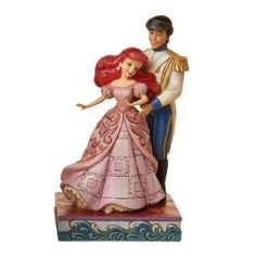 Ariel and Prince Dancing Figurine by Jim Shore