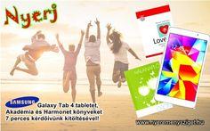 Sziasztok! Szuper ÚJ nyereményeket hoztunk nektek, amiket megnyerhettek új kérdőívünk kitöltésével !!! Ezúttal a támogatói szokásokról kérdezünk titeket. Katt! – Katt! - NYERJ! http://nyeremenysziget.hu/q/fillout/761   #nyeremény #tablet #könyv #samsung
