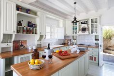 Photo: Lisa Shin   thisoldhouse.com   from All About Wood Countertops