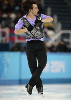 DAY 7:  Alexei Bychenko of Israel competes during the Figure Skating Men's Short Program http://sports.yahoo.com/olympics